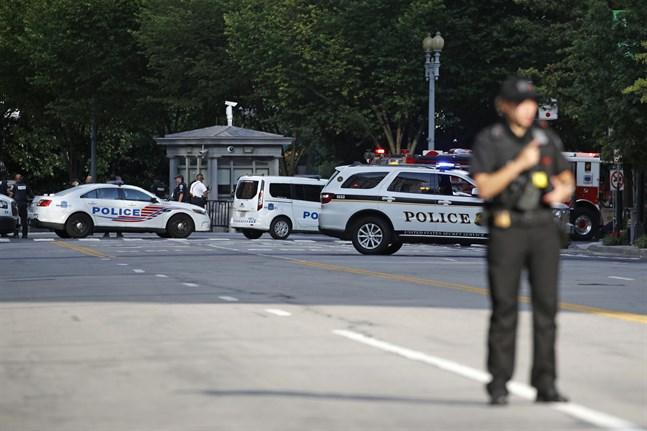 En person har skjutits i närheten av Vita huset.