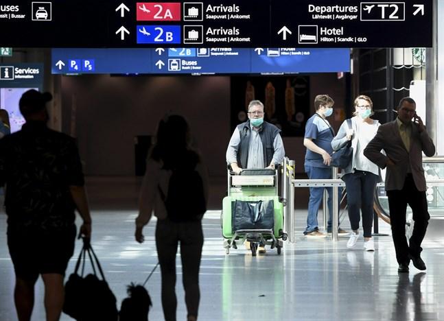 Finland skärper gränsövervakningen efter att coronafallen åter börjat öka i landet.