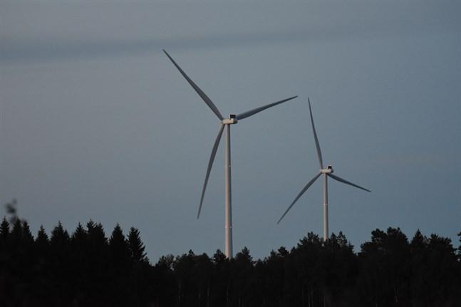 I framtiden kan Vörå få tre nya vindkraftsparker.