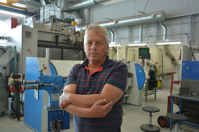 Kjell Langels, utbildningschef på Yrkesakademins enhet i Närpes tycker att de klarade vårens distansundervisning bra, men att den har också satt sina spår.