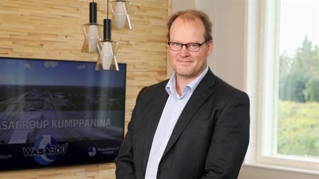 Johan Malm är vd för Wasa Group.