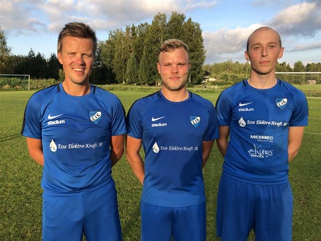 Rasmus Vikström gjorde 1-0, Oskar Myrevik 2-0 och Daniel Forsén 3-0 när Esse IK II besegrade LBK II.
