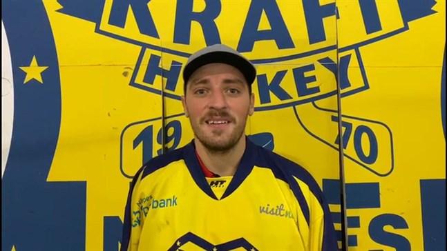 Maris Dilevka ska göra mål för Kraft hockey denna säsong.