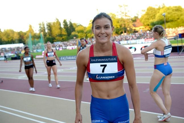 Alina Strömberg tog sin bästa FM-placering i karriären då det kommer till sprint. I stav har hon ett FM-silver.