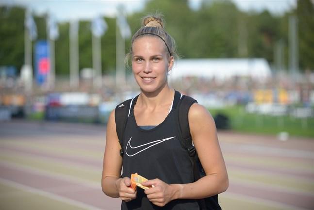 Emma Pullola siktar på medalj och rekord.