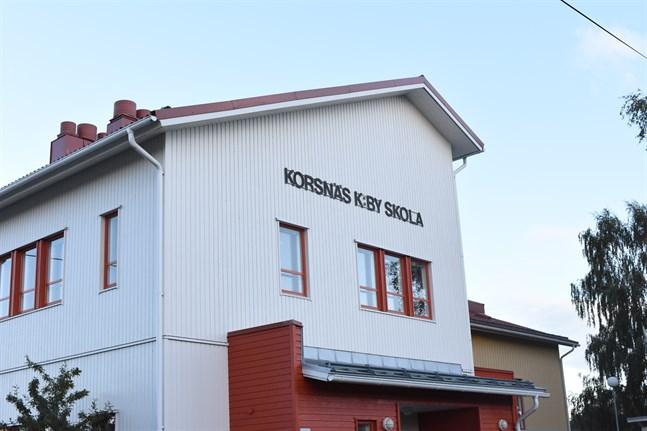 Korsnäs kyrkoby skola är stängd på torsdag och fredag.