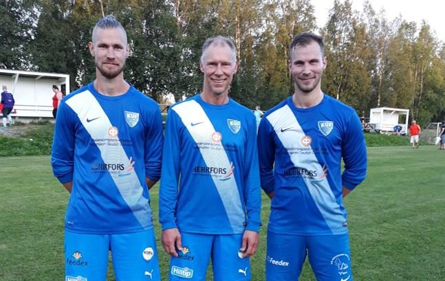 Kjell, Kurt och Martin Östman gjorde det igen.