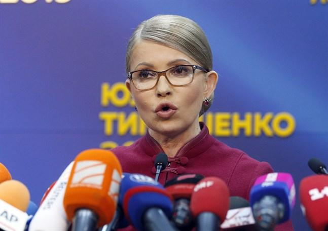 Den tungt meriterade ukrainska politikern Julia Tymosjenko. Arkivbild.