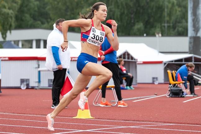 Alina Strömberg avslutade FM-helgen med stil.