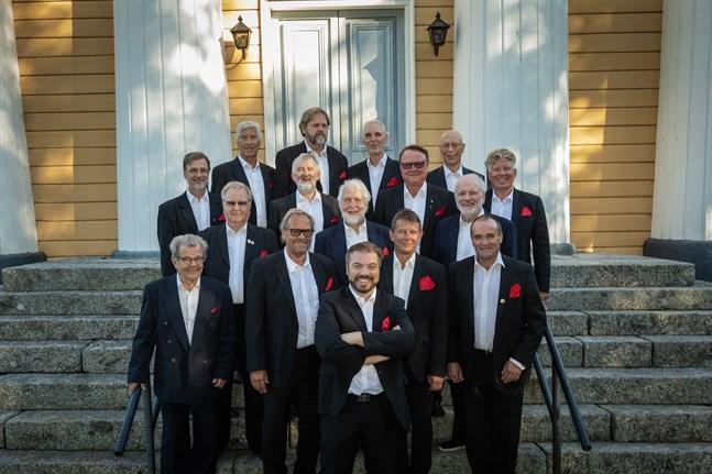 Church Hill Boys ser fram emot höstens tre konserter, två i Jakobstad och en i Vasa.