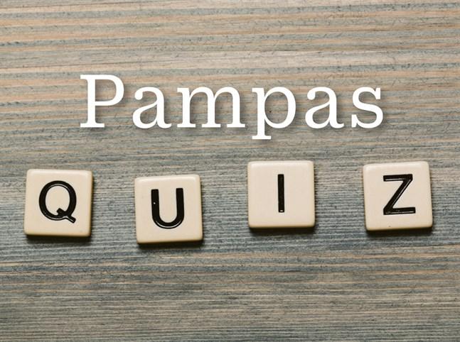 Testa dina kunskaper om Österbotten i VBL:s och ÖT:s Pampasquiz. Frågorna är sammanställda av Kjell Herberts.