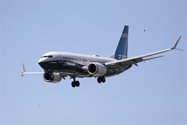 Den europeiska flygsäkerhetsmyndigheten EASA anser nu att Boeing har kommit så pass långt med förändringarna av flygplansmodellen 737 Max att man kan börja med testflygningar. Arkivbild.