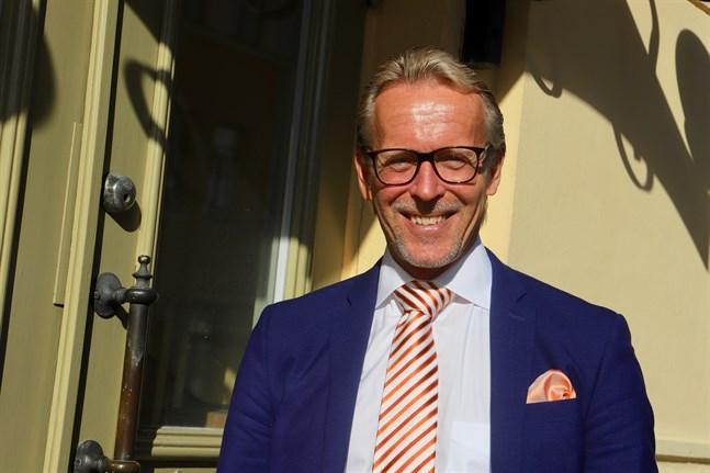 Ulf Nylund är vd på Vasa Andelsbank.