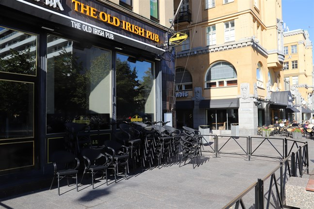 The Old Irish Pub i Vasa öppnar igen på fredag.
