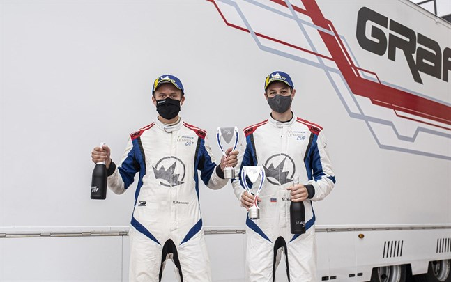 Rory Penttinen och Matthias Kaiser hade en händelserik motorhelg.