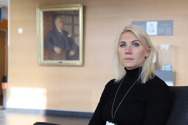 Marina Kinnunen är direktör för Österbottens välfärdsområde.