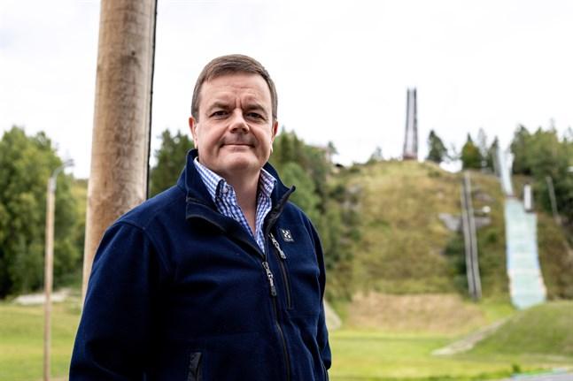 Ulf-Erik Widd är viceordförande för Vörå IF.