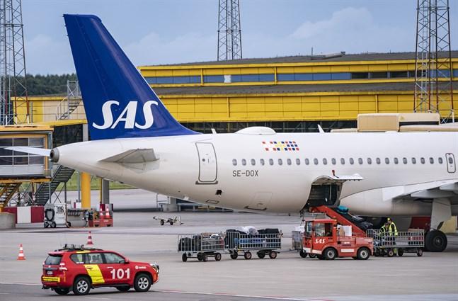 SAS får klartecken från långivare för förslag om att konvertera lån. Arkivbild