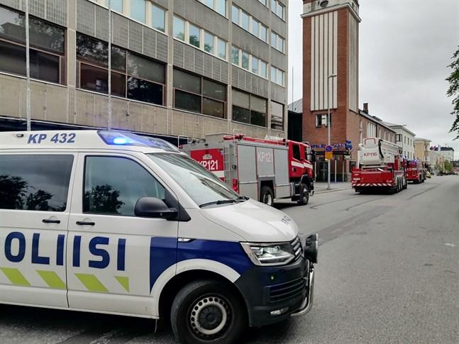 Rökutveckling i Mellersta Österbottens förbund.
