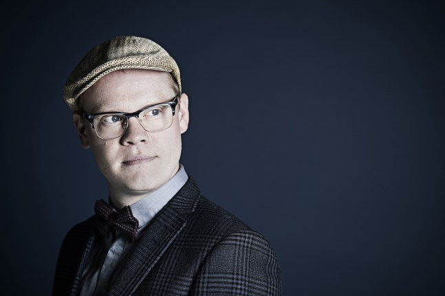 Konsertens dirigent Janne Nisonen.