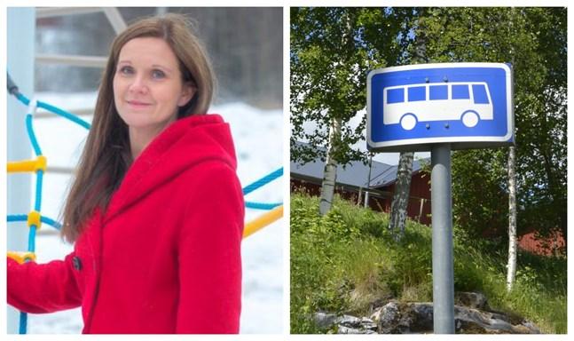 Leena Nikkari-Östman (SFP) säger att det inte var ett lätt beslut att gå in för en upphandling av skolskjutsar. Risken är att det blir dyrare för kommunen.