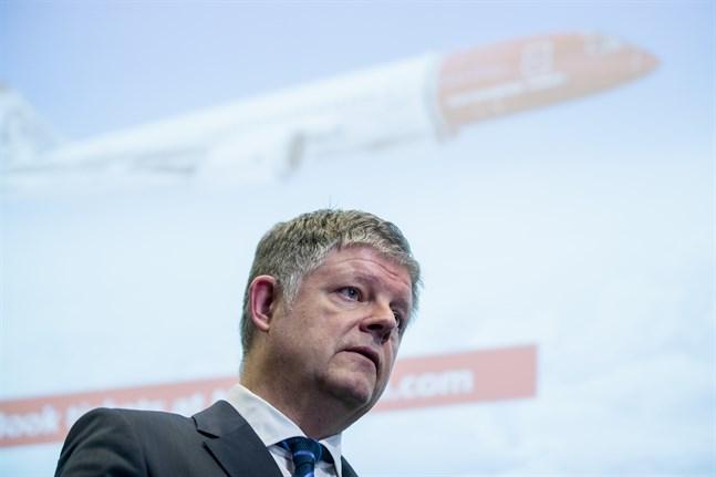 Flygbolaget Norwegian, med vd Jacob Schram, är hårt pressat i coronakrisen. Arkivbild