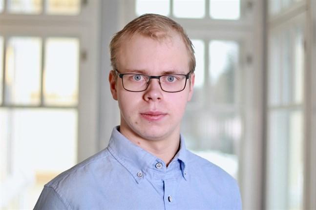 Anton Broända, 21, från Nedervetil ställer upp som kandidat i valet av Svensk Ungdoms förbundsstyrelse.