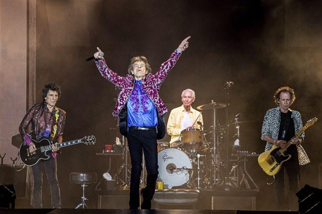 Rolling Stones hoppas kunna fira sitt 60-årsjubileum med en jättekonsert. Arkivbild.