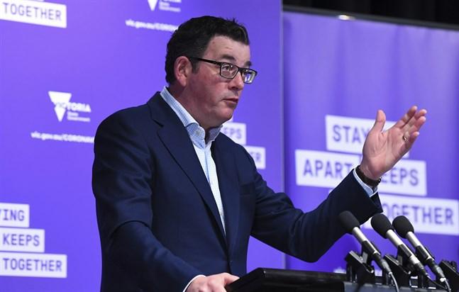 Den australiska delstaten Victorias premiärminister Daniel Andrews. Arkivbild.