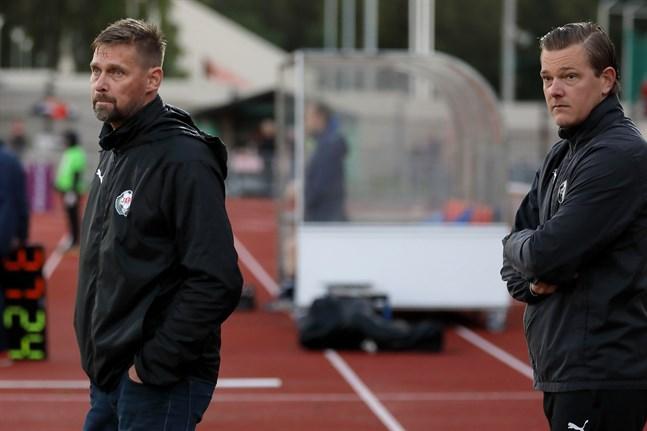Niklas Käcko och Jonas Portin i Jaro jagar nya poäng.