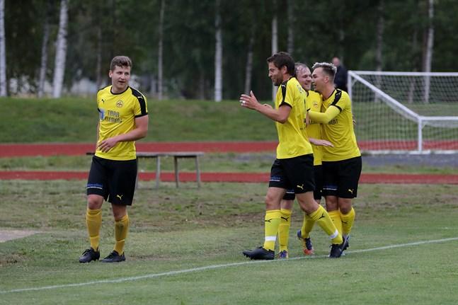 IK Myran vann division 4 i sommar. I vinter blir det division 1 i futsal för Nedervetillaget.
