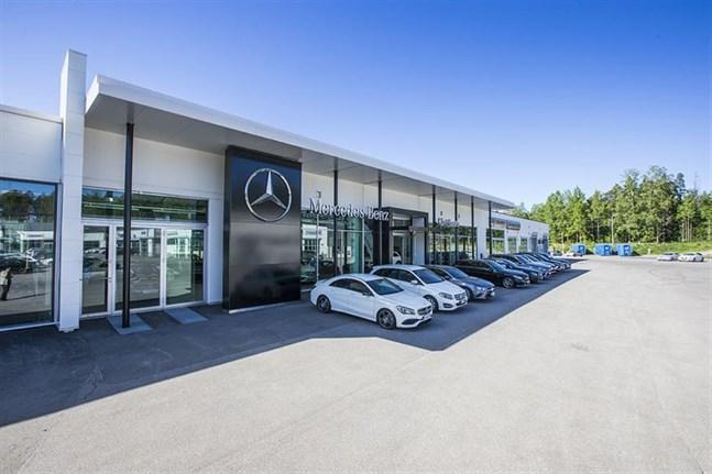 Käyttöauto i Vasa ansvarar nu också för Mercedes-Benz nyttofordon.