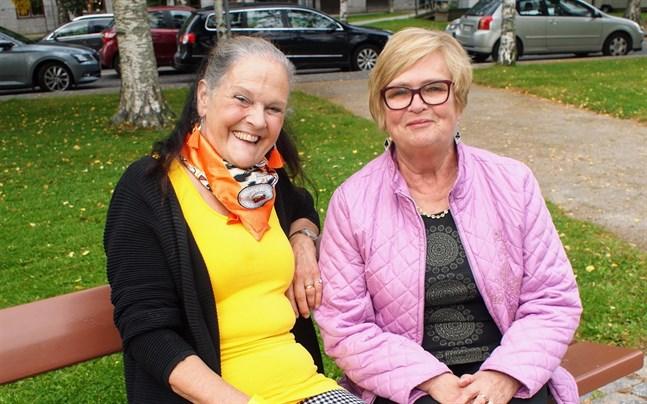 Gunilla Luther-Lindqvist och Eivor Haga från Nada Nord berättar att välgörenhetskonserterna är en trygg stomme för verksamheten.