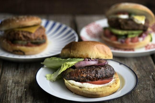 Byt ut köttet ibland. Det finns vegoburgare för alla smaker.
