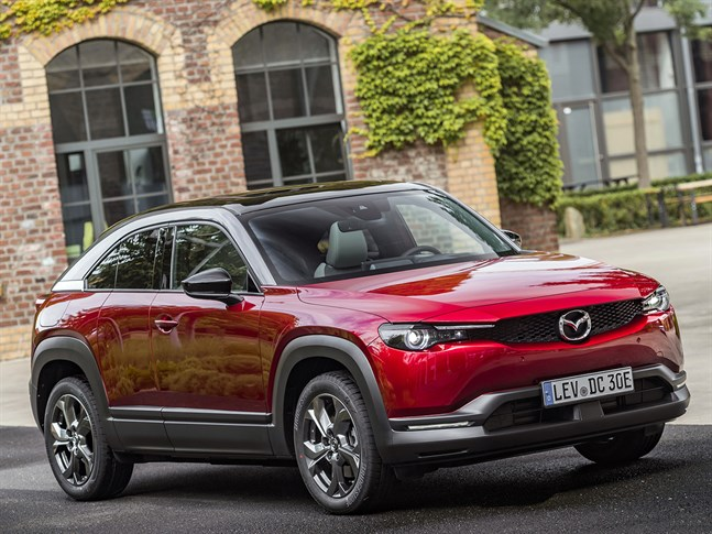 Veckans bil är nya Mazda MX-30.