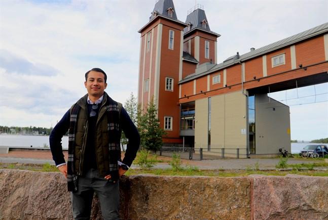 André Martinez vill bli SU:s vice ordförande.