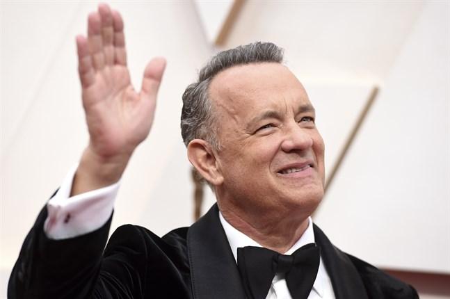"""Tom Hanks spelar Elvis Presleys manager i den kommande filmen """"Elvis""""."""
