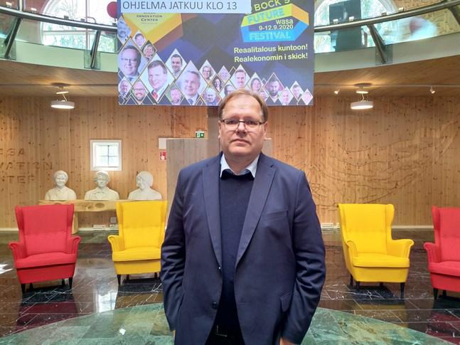 Juha Tiihonen vill få fart på den nya digitala ekonomin i Finland.