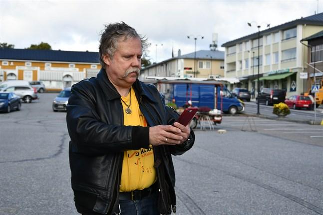 Inget krångel konstaterar stadens dataansvarige Rikard Haldin när han loggar in på WiFi4EU.
