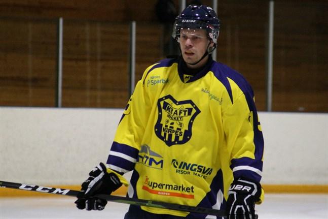 Joakim Kaas gör nu sin sextonde säsong i Kraft hockey.