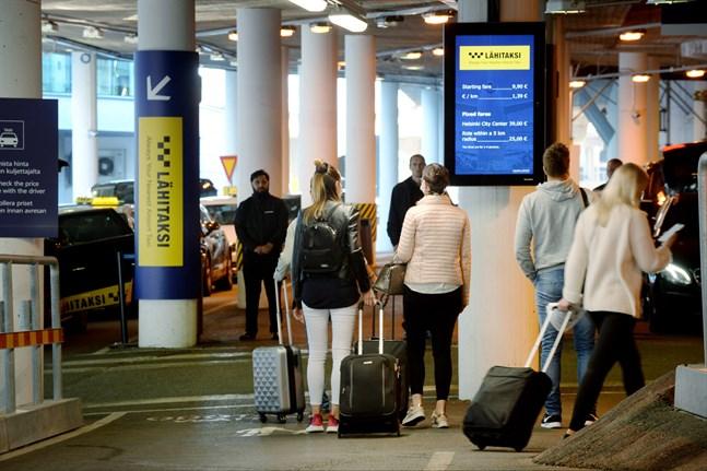 Färre flygpassagerare vid Helsingfors-Vanda oroar Finavia.