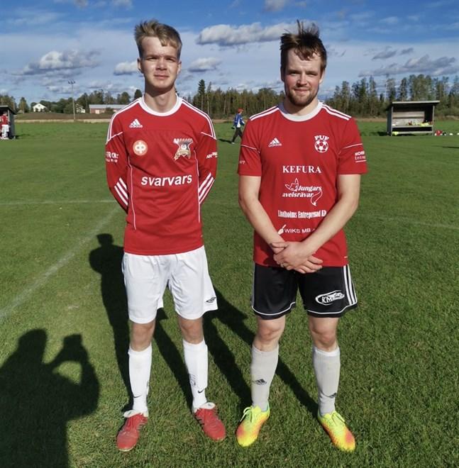 David Hellman i MunU och Robin Andersson i PUF gjorde bra ifrån sig i säsongens sista match.