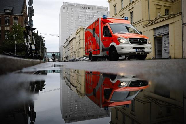 Sjukhuset i Berlin där Aleksej Navalnyj vårdas. Arkivbild.