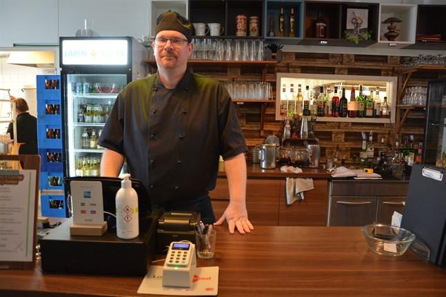 Nu utvidgar krögaren Andreas Nylind i Närpes sin verksamhet med att öppna restaurang också i Korsnäs.