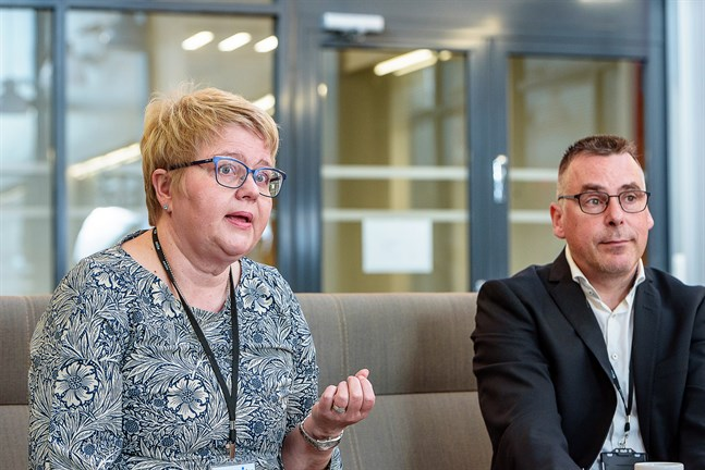Vd Minna Korkeakoski-Västi och ekonomidirektör Pasi Hämäläinen befarade att coronapandemin skulle ha slagit hårdare mot Soites ekonomi.