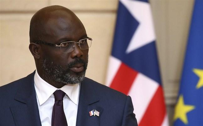 Liberia president George Weah utlyser nödläge för att bekämpa det sexuella våldet.