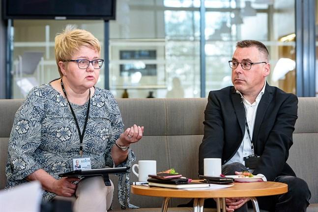 Vd Minna Korkeakoski-Väst och , ekonomidirektör Pasi Hämäläinen säger att budgetramen är mycket stram.