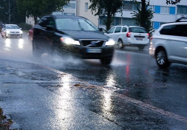 Österbotten får räkna med kraftig nederbörd.