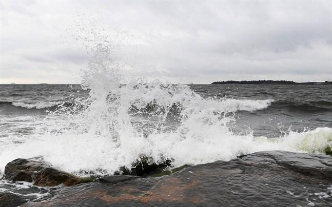 Vågorna väntas bli höga.