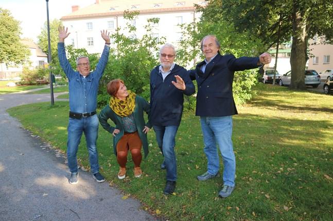 Pehr Löv, Stina Wallin, Mikael Forss och Christer Carlsson har de senaste åren fått en allt djupare förståelse för betydelsen av att äldre motionerar.
